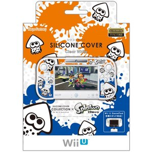 WiiU シリコンカバー for GamePadスプラトゥーン Type-A|arc-online