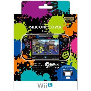WiiU シリコンカバー for GamePadスプラトゥーン Type-B|arc-online