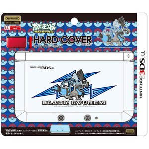 3DS ハードカバー for LL ブラックキュレムオーバードライブ|arc-online