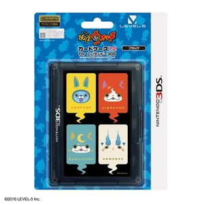 3DS 妖怪ウォッチ カードケース12 for ニンテンドー3DS ブラック