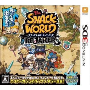 【新品】3DS スナックワールド トレジャラーズ|arc-online
