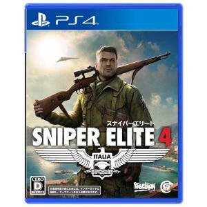 【新品】PS4 SNIPER ELITE 4|arc-online