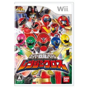 Wii スーパー戦隊バトル レンジャークロス|arc-online