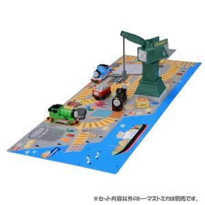トミカ きかんしゃトーマス つながる立体マップ ヒロとクランキーの積み下ろしセット(※留意商品)|arc-online