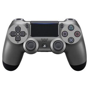 PS4 ワイヤレスコントローラー(DUALSHOCK4)スチール・ブラック|arc-online