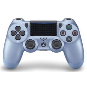 PS4 ワイヤレスコントローラー(DUALSHOCK4)チタン・ブルー|arc-online