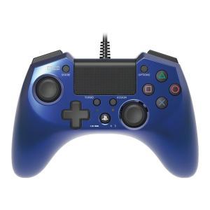 PS4 ホリパッドFPSプラス ブル-(PS4/PS3両対応...