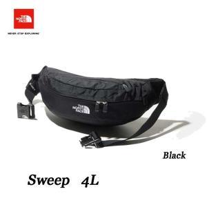 ザ ノースフェイス スウィープ ブラック  The North Face Sweep 4L  NM71904 (K)ブラック|arc-store