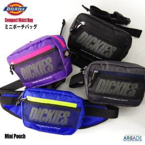 ボディバッグ Dickies ディッキーズ ショルダーバッグ ウエストバッグ ミニポーチ ミニバッグ メンズ・レディース かばん|arcade