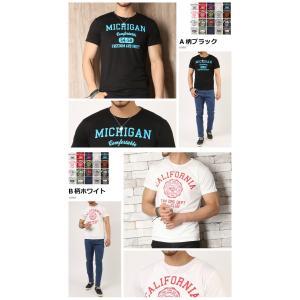 Tシャツ メンズ 吸汗速乾 ドライメッシュ素材 アメカジT カレッジT M L LL 3L 脇汗対策 メンズ トップス メンズファッション Tシャツ カットソー|arcade|06