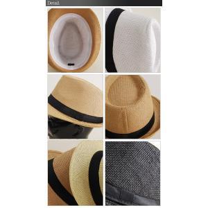 パナマ帽 ハット ペーパー 中折れ ストローハット コンパクトデザイン メンズ レディース 麦わら帽子 メンズファッション セール 送料無料|arcade|04