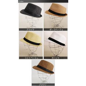 パナマ帽 ハット ペーパー 中折れ ストローハット コンパクトデザイン メンズ レディース 麦わら帽子 メンズファッション セール 送料無料|arcade|05