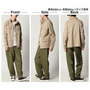 セール ミリタリージャケット メンズ M-65 ストレッチ素材 フライトジャケット ブルゾン メンズ|arcade|06
