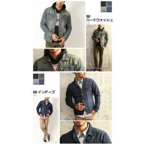 売り尽くし 破格 セール デニム ジャケット Gジャン 加工デニム Gジャン メンズ デニムシャツ|arcade|05