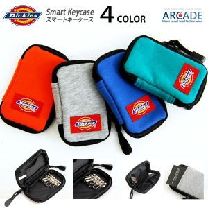 キーケース 人気ブランド DICKIES ディッキーズ かわいいキーケース 6連 キーホルダー キーケース スマート収納|arcade