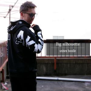 パーカー メンズ ビッグパーカー 袖プリント フードプリント 裏毛 長袖 メンズ プルパーカー|arcade|09