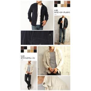 シャツ メンズ 選べる2種類 ウェスタンシャツ コーデュロイ&フェイススウェード (カットソー トップス) メンズ セール|arcade|07