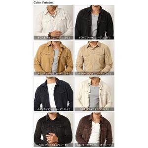 シャツ メンズ 選べる2種類 ウェスタンシャツ コーデュロイ&フェイススウェード (カットソー トップス) メンズ セール|arcade|10
