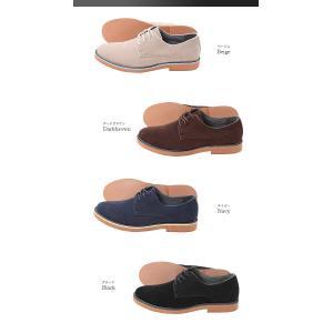 スエード スウェード レンガソール シューズ 短靴 ローファー フェイクレザー 革靴 メンズ|arcade|03