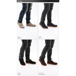 スエード スウェード レンガソール シューズ 短靴 ローファー フェイクレザー 革靴 メンズ|arcade|05