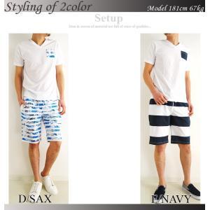 上下 セットアップ メンズ セットアップ Tシャツ ショートパンツ メンズ ハーフパンツ 柄 夏 メンズファッション セール 送料無料|arcade|05