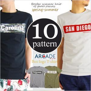 セール Tシャツ メンズ ボックスロゴ プリント...の商品画像