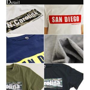 セール Tシャツ メンズ ボックスロゴ プリン...の詳細画像3