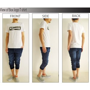 セール Tシャツ メンズ ボックスロゴ プリン...の詳細画像4