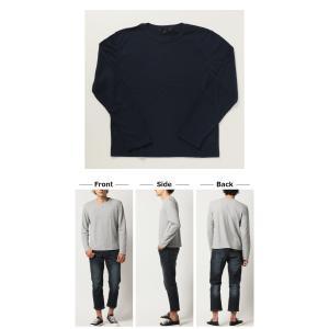 ロンT メンズ 人気 4万枚完売 サーマル ロングTシャツ メンズ ワッフル Tシャツ カットソー トップス メンズ 2019 秋 冬|arcade|03