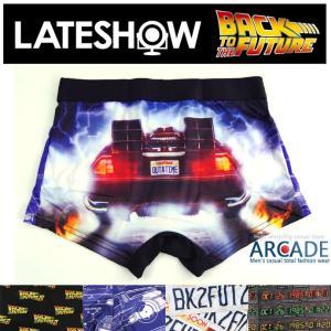 ボクサーパンツ メンズ ボクサーブリーフ Back to the Future【LATE SHOW/レイトショー】コラボ 下着|arcade