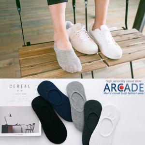 お得な 5足セット  ローカットソックス フットカバー インステップソックス ショートソックス 靴下 メンズ|arcade
