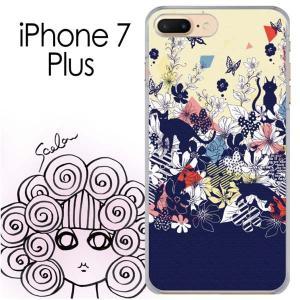 iPhone7 Plus ケース カバー ScoLar スカラー iphoneケース ネコ スカラー...