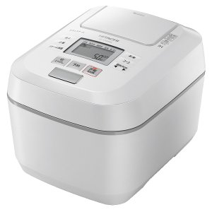 炊飯器 日立 RZ-V100DM-W パールホワイト [HITACHI][沸騰鉄釜/ふっくら御膳/圧...
