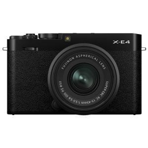 デジカメ ●FUJIFILM X-E4 ボディ ブラック [Xシリーズ][デジタルカメラ][ミラーレスデジタルカメラ][富士フイルム] /AW 25|アーチホールセールPayPayモール店