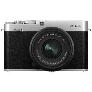 デジカメ ●FUJIFILM X-E4 ボディ シルバー [Xシリーズ][デジタルカメラ][ミラーレスデジタルカメラ][富士フイルム] /AW 25|アーチホールセールPayPayモール店