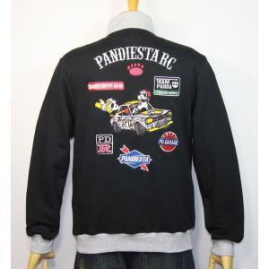PANDIESTA JAPAN(パンディエスタ)PD-R レーシング ジップハイ ジャケット 598216【ブラック】(1905)新品 送料無料|arches