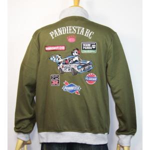 PANDIESTA JAPAN(パンディエスタ)PD-R レーシング ジップハイ ジャケット 598216【カーキ】(1906)新品 送料無料|arches