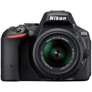デジカメ一眼 ニコン D5500 18-55 VR II レンズキット [ブラック]