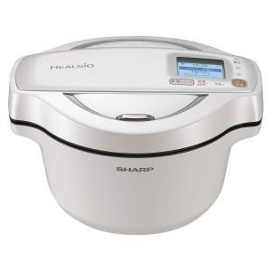 ○シャープ 水なし自動調理鍋 ヘルシオ ホットクック KN-HW16D-W [ホワイト系]