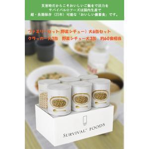 送料無料 サバイバルフーズ バラエティセット 25年保存 小缶6本セット|archi-plot0117