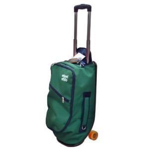 スケートボード型キャリーバッグ -green-|arching
