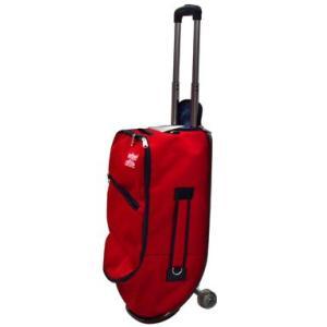 スケートボード型キャリーバッグ -red-|arching