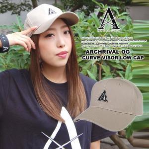 ARCHRIVAL OG CURVE VISOR LOW CAP BEIGE|archrival