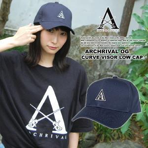 ARCHRIVAL OG CURVE VISOR LOW CAP NAVY|archrival