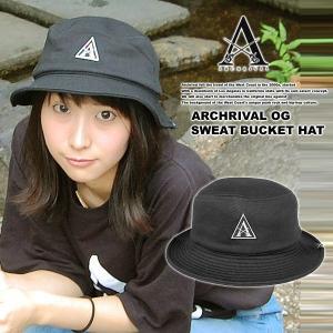ARCHRIVAL OG SWEAT BUCKET HAT BLACK|archrival