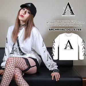 ARCHRIVAL OG LS TEE WHITE アーチライバル オリジナル オージー ロングスリーブTシャツ ホワイト 白|archrival