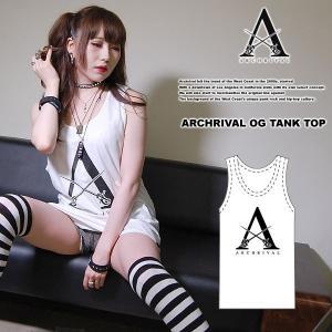ARCHRIVAL OG TANKTOP WHITE アーチライバル オリジナル タンクトップ ホワイト 白|archrival