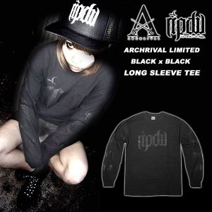 Archrival x RIPDW Limited Long Sleeve Tee Black x Black リップ デザイン ワークス|archrival