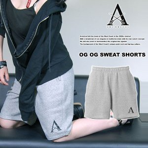 ARCHRIVAL OG ONEPOINT SWEAT SHORTS GRAY アーチライバル スエットショーツ ヘザーグレー 杢灰|archrival