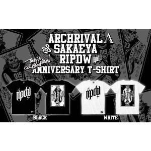 ripdw Archrival 2ed Anniversary Limited Tee アーチライバル 2周年記念 限定 トリプルコラボ Tシャツ リップ デザイン ワークス|archrival